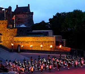 Edinburgh Tatto on The Backdrop Of Edinburgh Castle  The World S Most Spectacular Tattoo