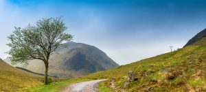 The Glen Etive Road