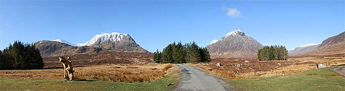 Views on the West Highland Way