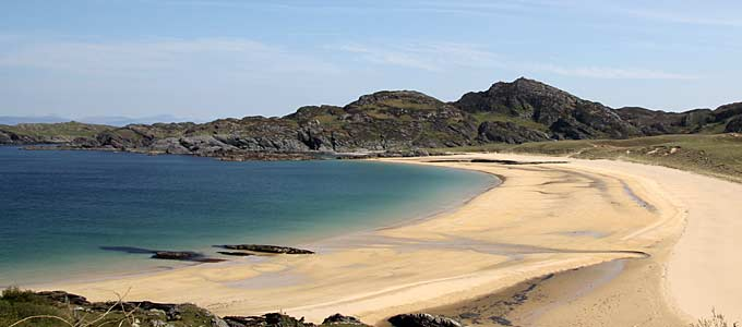 Kiloran Bay on the Isle of Colonsay