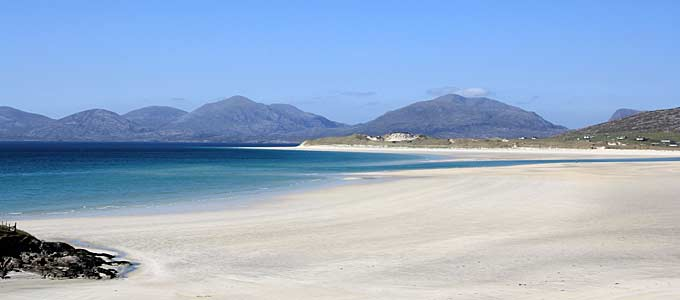 Luskentyre Beach on the Isle of South Harris, the most beautiful beach in Scotland?
