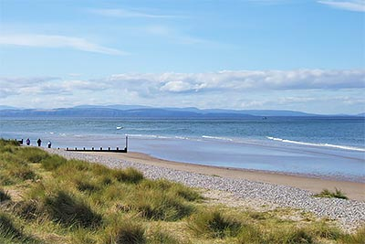 Moray Coastline from Findhorn Dunes