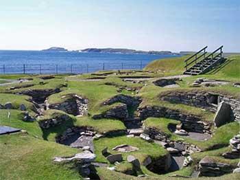 Jarlshof Shetland