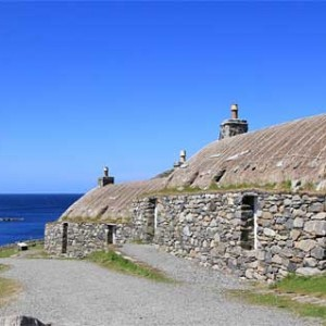 Gearrannan Black House Village Isle of Lewis