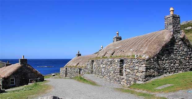 Gearrannan Black House Village Isle of Lewis