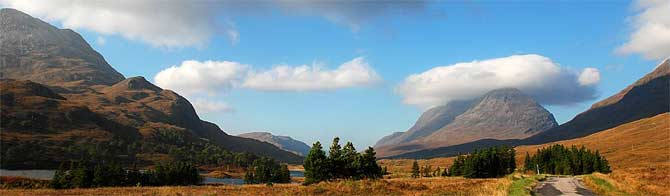 Stunning Views in Glen Torridon