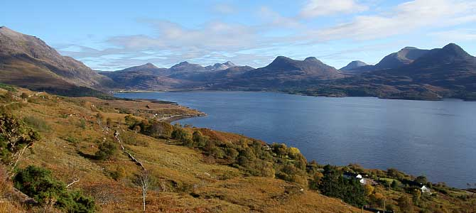 Upper Loh Torridon from Lower Diabaig Road