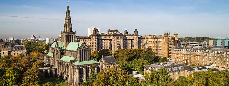 Glasgow Cathedral and Royal Infirmary