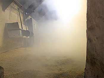 View inside the Kiln