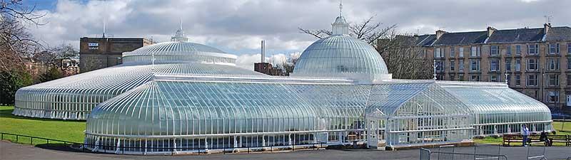 Kibble Palace Glasgow Botanic Gardens