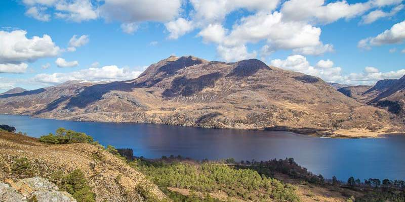 Loch Maree from Mountain Trail