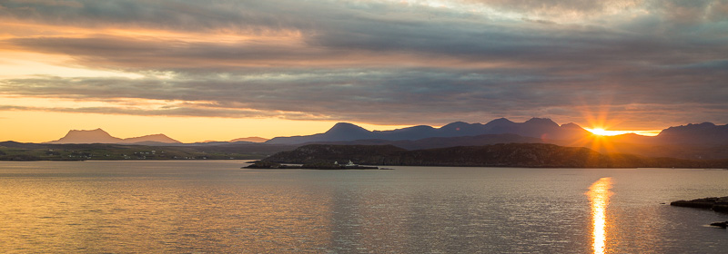 Sunrise over Loch Ewe