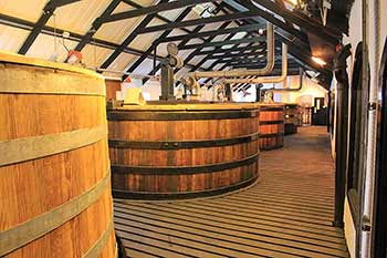 The Tun Room in Bowmore Distillery