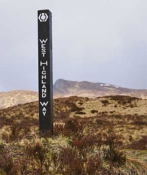 West Highland Way Marker