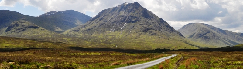 mountain road scotland