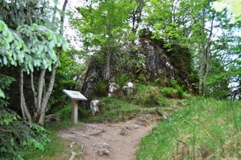 signal rock in glencoe