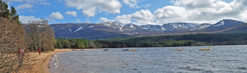 Cairngorms and Loch morlich