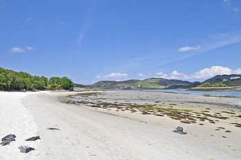 White Sands of Morar Scotland