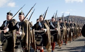 Atholl-Highlanders Marching