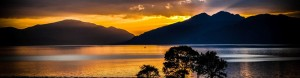 Sunset on Loch linnhe