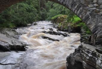 Feshiebridge Waterfall