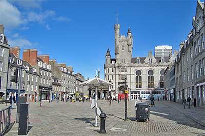Aberdeen City Granite City Scotland Info Guide