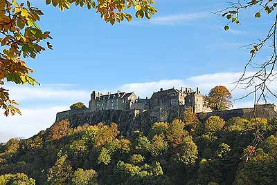 Autumn Stirling Castle