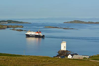 Calmac Ferry arriving on Islay