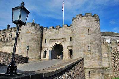 Entrance Stirling Castle