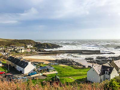 Village of Collieston Aberdeenshire