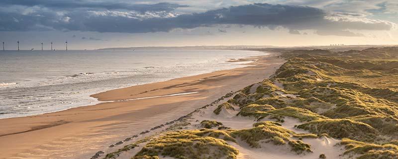 Dunes South of River Ythan Estuary