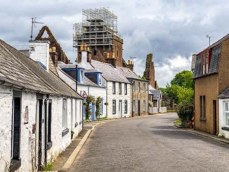 Village of New Abbey Dumfries