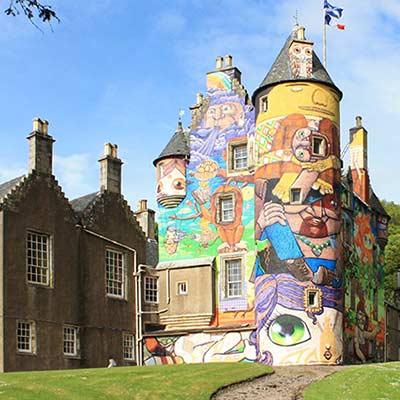 Kelburn Castle Grafitti