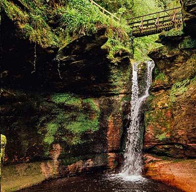 Kelburn Castle Waterfall