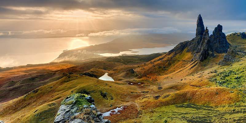 Scottish Highlands Isle of Skye