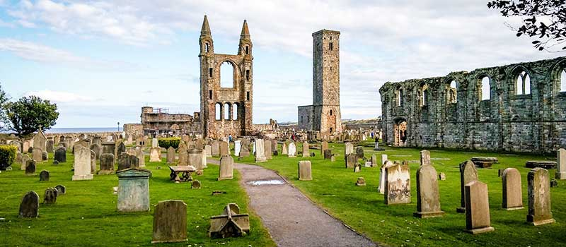St Andrews Priory and Cathedral