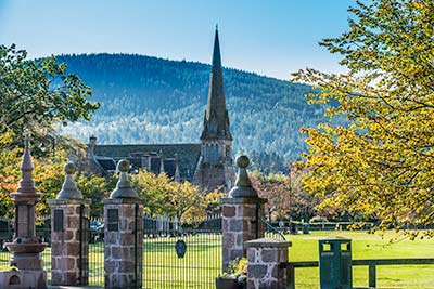 Aboyne Church and Village Green