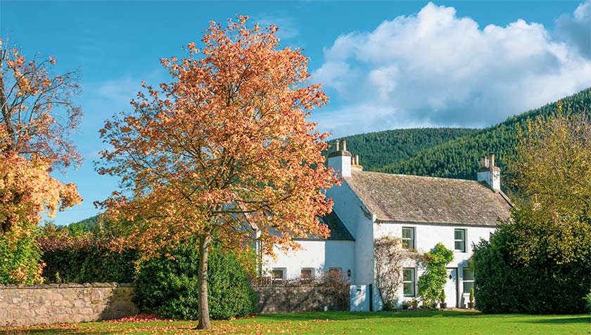 Autumn in Ballater Royal Deeside