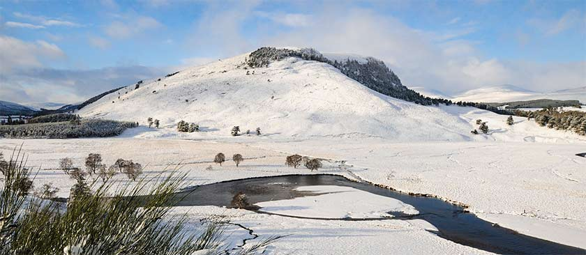 Deeside Landscape in Winter