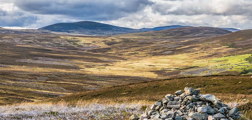Moorland north of Ballater