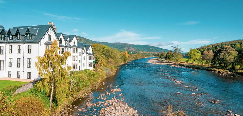 River Dee from Ballater Bridge
