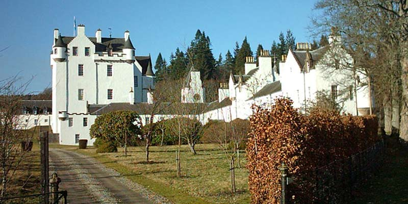 Blair Castle from the Rear